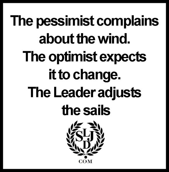 the pessimist complains
